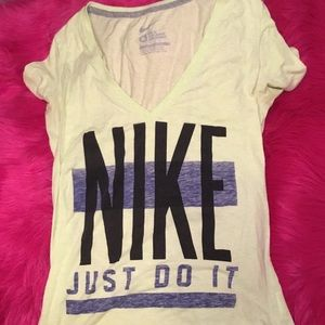 Nike Short Sleeve V Neck T-shirt